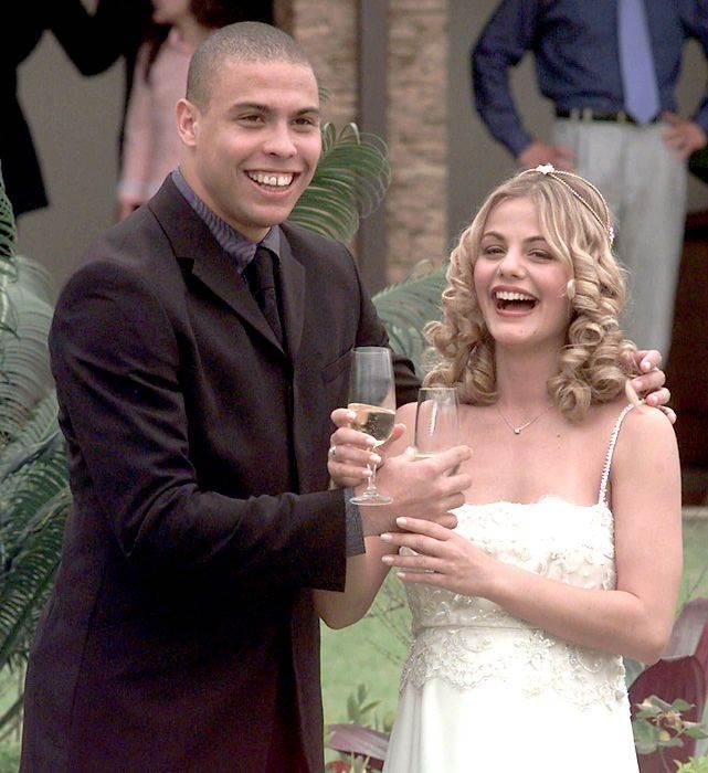 زفاف رونالدو وميلني دومنجيز